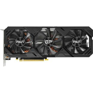 Palit GeForce RTX 2070SUPER 1605MHz PCI-E 3.0 8192MB 14000MHz 256bit DisplayPort HDMI HDCP GAMING PRO (NE6207SS19P2-180T) RTL